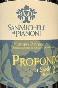 San Michele al Pianoni Profondo di San Michele Riserva Oltrepo Pavese 2003 (750ML)