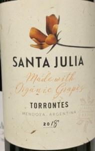 Zuccardi 'Santa Julia' Torrontes Mendoza 2018 (750ML)