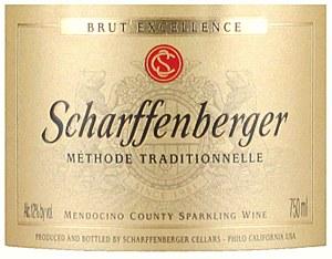 Scharffenberger Mendocino Valley Brut Sparkling Wine NV (750ML)
