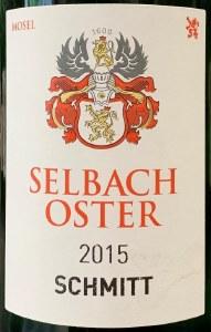 Selbach-Oster Auslese Schmitt Zeltinger Schlossberg Riesling 2015 (750ML)