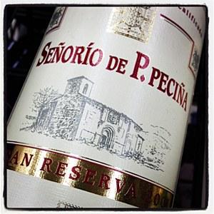 Senorio de P. Pecina Rioja Gran Reserva 2009 (750ML)