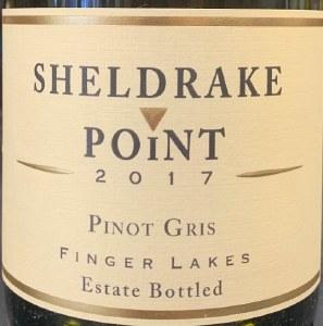 Sheldrake Point Winery Pinot Gris Finger Lakes 2017 (750ml)