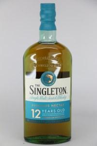 Singleton of Glendullan 12 Year Old Single Malt Scotch Whiskey, Speyside (750ML)