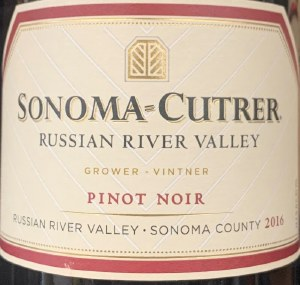 Sonoma-Cutrer Pinot Noir Russian River Valley 2017 (750ml)