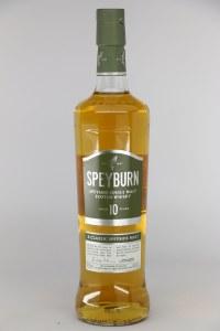 Speyburn 10 Year Old Single Malt Scotch Whiskey, Highland (750ML)