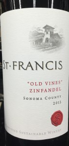 St. Francis 'Old Vines' Zinfandel Sonoma County 2016 (750ml)
