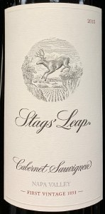 Stag's Leap Winery Cabernet Sauvignon Napa Valley 2015 (750ML)