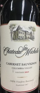 Chateau Ste. Michelle Columbia Valley Cabernet Sauvignon 2015 (750ML)