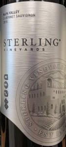 Sterling Vineyards Napa Valley Cabernet Sauvignon 2015 (750ML)