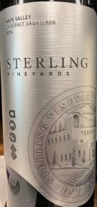 Sterling Vineyards Napa Valley Cabernet Sauvignon 2016 (750ML)