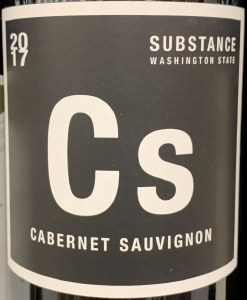 Wines of Substance Cs Cabernet Sauvignon 2017 (750ml)