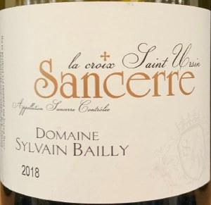 Sylvain Bailly Terroirs Sancerre 2019 (750ml)