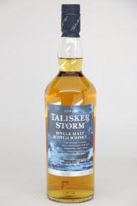 Talisker Storm Single Malt Scotch Whiskey, Isle of Skye (750ML)