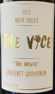 The Vice Cabernet Sauvignon The House  Napa Valley 2017 (750ml)