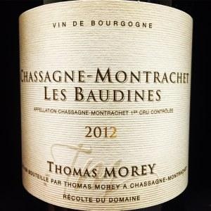 Thomas Morey Chassagne-Montrachet 1er Cru 'Baudines' 2012 (750ml)