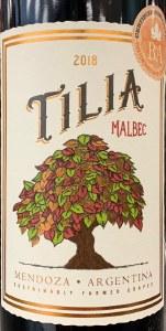 Tilia Malbec Mendoza 2018 (750ml)