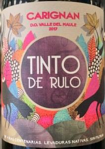 Tinto de Rulo Carignan Maule 2017 (750ml)