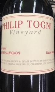 Philip Togni Cabernet Sauvignon Napa Valley 2014  (750ML)