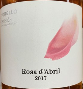 Torello Rosa D' Abril Penedes Rosado Rose 2017 (750ml)