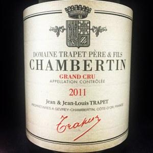 Trapet Gevrey-Chambertin Grand Cru 'Chambertin' 2011 (750ml)
