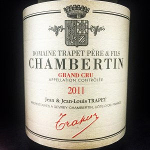 Trapet Gevrey-Chambertin Grand Cru 'Chambertin' 2011 (Biodynamic) (750ml)