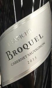 Trapiche 'Broquel' Cabernet Sauvignon Mendoza 2015 (750ML)