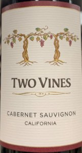 Columbia Crest Two Vines Cabernet Sauvignon 2015 (750ml)