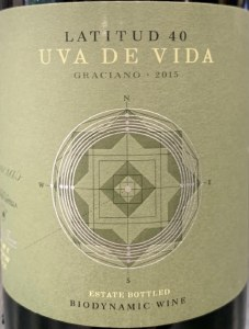 Uva de Vida Graciano (750ml)