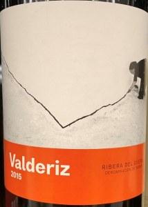 Bodegas Y Vinedos Valderiz Ribera del Duero 2015 (750ml)