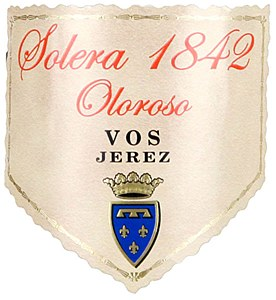"""Valdespino """"Solera 1842"""" Jerez-Xeres-Sherry VOS Semi-Sweet Oloroso NV (750ML)"""