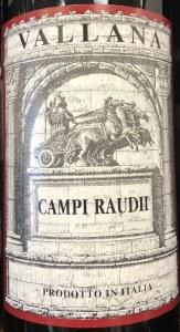 Antonio Vallana Campi Raudi 2007 (750ml)