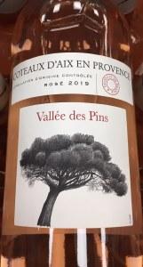 Foncalieu Vallee des Pins Coteaux d'Aix en Provence Rose 2019 (750ml)