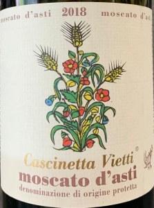 Vietti 'Cascinetta' Moscato d'Asti 2020 (750ml)
