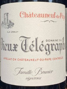 Vieux Telegraphe Chateauneuf du Pape Rouge 2017 (750ml)