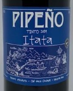 A Los Vinateros Bravos Pipeno Tinto 2018 (Liter)