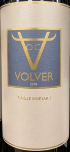 Bodegas Volver 'Single Vineyard' Tempranillo La Mancha 2016 (750ml)