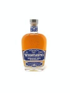 Whistlepig Straight Rye 15 Yrs .750L