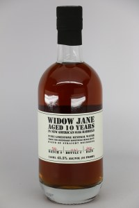 Widow Jane Straight Bourbon Whiskey Aged 10 Yrs in American Oak .750L