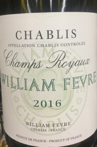 William Fevre 'Champs Royaux' Chablis 2018 (750ML)