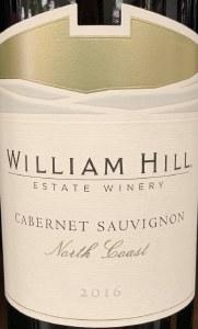 William Hill Cabernet Sauvignon North Coast 2016 (750ml)