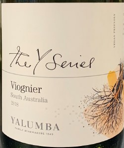 Yalumba Y Series Viognier 2018 (750ml)
