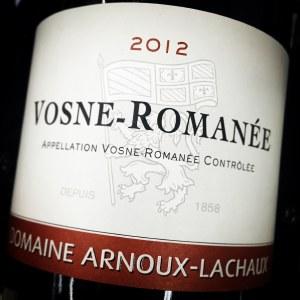 Arnoux-Lachaux Vosne-Romanee 2012 (750ML)