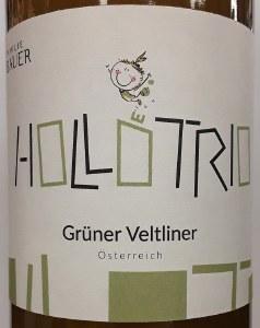 Familie Bauer Hollotrio Gruner Veltliner Orange Wine 2020 (Liter)