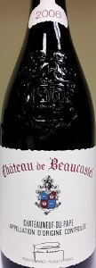Chateau de Beaucastel Chateauneuf du Pape Rouge 2006 (750ML)