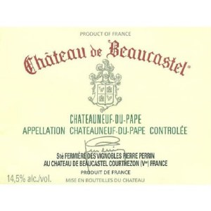 Chateau de Beaucastel Chateauneuf du Pape Rouge 2017 (750ML)
