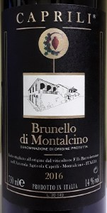 Caprili Brunello di Montalcino 2016 (750ML)