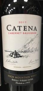 Catena High Mountain Vines Cabernet Sauvignon Mendoza 2017 (750ml)