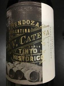 D.V. Catena Tinto Historico Red Blend 2014
