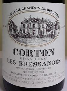 Briailles Corton Grand Cru Les Bressandes 2014 (750ml)