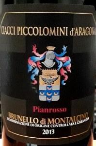 Ciacci Piccolomini d'Aragona Brunello di Montalcino 2013 (750ml)